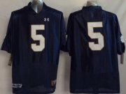 Wholesale Cheap Notre Dame Fighting Irish #5 Everett Golson 2014 Blue Jersey