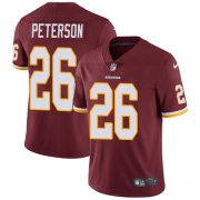 Wholesale Cheap Nike Redskins #26 Adrian Peterson Burgundy Red Team Color Men's Stitched NFL Vapor Untouchable Limited Jersey