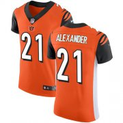 Wholesale Cheap Nike Bengals #21 Mackensie Alexander Orange Alternate Men's Stitched NFL New Elite Jersey