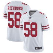 Wholesale Cheap Nike 49ers #58 Weston Richburg White Youth Stitched NFL Vapor Untouchable Limited Jersey