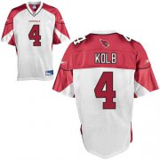 Wholesale Cheap Cardinals #4 Kevin Kolb White Stitched NFL Jersey
