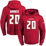 Wholesale Cheap Nike Buccaneers #20 Ronde Barber Red Name & Number Pullover NFL Hoodie