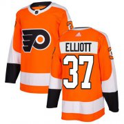 Wholesale Cheap Adidas Flyers #37 Brian Elliott Orange Home Authentic Stitched Youth NHL Jersey
