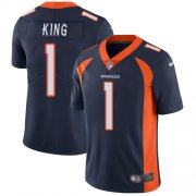 Wholesale Cheap Nike Broncos #1 Marquette King Navy Blue Alternate Men's Stitched NFL Vapor Untouchable Limited Jersey
