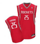 Wholesale Cheap Houston Rockets #25 Chandler Parsons Red Swingman Jersey