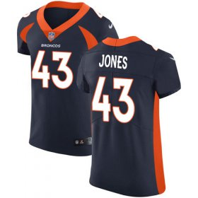 Wholesale Cheap Nike Broncos #43 Joe Jones Navy Blue Alternate Men\'s Stitched NFL New Elite Jersey