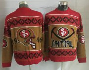 Wholesale Cheap Nike 49ers Men's Ugly Sweater_1