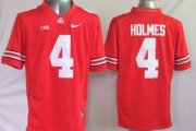 Wholesale Cheap Ohio State Buckeyes #4 Santonio Holmes 2014 Red Limited Jersey