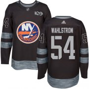 Wholesale Cheap Adidas Islanders #54 Oliver Wahlstrom Black 1917-2017 100th Anniversary Stitched NHL Jersey