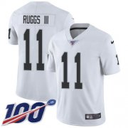 Wholesale Cheap Nike Raiders #11 Henry Ruggs III White Men's Stitched NFL 100th Season Vapor Untouchable Limited Jersey