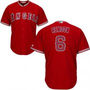 Wholesale Cheap Angels of Anaheim #6 Anthony Rendon Red New Cool Base Stitched MLB Jersey