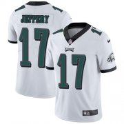 Wholesale Cheap Nike Eagles #17 Alshon Jeffery White Youth Stitched NFL Vapor Untouchable Limited Jersey