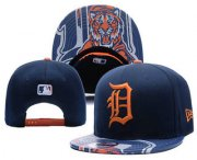 Wholesale Cheap MLB Detroit Tigers Snapback Ajustable Cap Hat YD 1