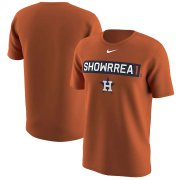 Wholesale Cheap Houston Astros #1 Carlos Correa Nike Legend Player Nickname Name & Number T-Shirt Orange
