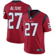 Wholesale Cheap Nike Texans #27 Jose Altuve Red Alternate Youth Stitched NFL Vapor Untouchable Limited Jersey