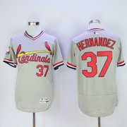Wholesale Cheap Cardinals #37 Keith Hernandez Grey Flexbase Authentic Collection Cooperstown Stitched MLB Jersey