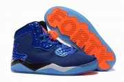 Wholesale Cheap Jordan Spike 40 Shoes Blue/black-orange