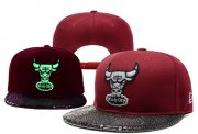 Wholesale Cheap NBA Chicago Bulls Snapback Ajustable Cap Hat YD 03-13_22