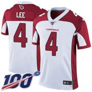 Wholesale Cheap Nike Cardinals #4 Andy Lee White Men's Stitched NFL 100th Season Vapor Limited Jersey