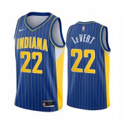 Wholesale Cheap Nike Pacers #22 Caris LeVert Blue NBA Swingman 2020-21 City Edition Jersey