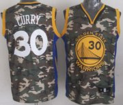 Wholesale Cheap Golden State Warriors #30 Stephen Curry Camo Fashion Jersey