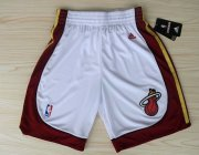 Wholesale Cheap Miami Heat White Short