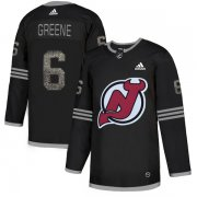 Wholesale Cheap Adidas Devils #6 Andy Greene Black Authentic Classic Stitched NHL Jersey