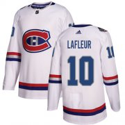 Wholesale Cheap Adidas Canadiens #10 Guy Lafleur White Authentic 2017 100 Classic Stitched Youth NHL Jersey