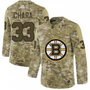 Wholesale Cheap Adidas Bruins #33 Zdeno Chara Camo Authentic Stitched NHL Jersey