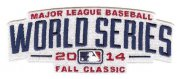 Wholesale Cheap Stitched MLB 2014 World Series Logo Jersey Sleeve Patch (Kansas City Royals & San Francisco Giants)