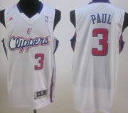 Wholesale Cheap Los Angeles Clippers #3 Chris Paul White Swingman Jersey