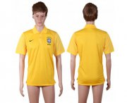 Wholesale Cheap Brazil Blank Yellow Polo Shirts