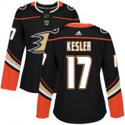 Wholesale Cheap Adidas Ducks #17 Ryan Kesler Black Home Authentic Women's Stitched NHL Jersey