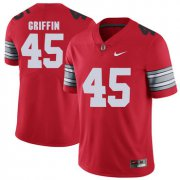 Wholesale Cheap Ohio State Buckeyes 45 Archie Griffin Red 2018 Spring Game College Football Limited Jersey