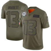 Wholesale Cheap Nike Seahawks #13 Phillip Dorsett Camo Men's Stitched NFL Limited 2019 Salute To Service Jersey