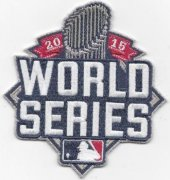 Wholesale Cheap Stitched 2015 World Series Jersey Patch