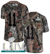 Wholesale Cheap Nike Chiefs #11 Demarcus Robinson Camo Super Bowl LIV 2020 Youth Stitched NFL Limited Rush Realtree Jersey