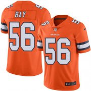 Wholesale Cheap Nike Broncos #56 Shane Ray Orange Youth Stitched NFL Limited Rush Jersey