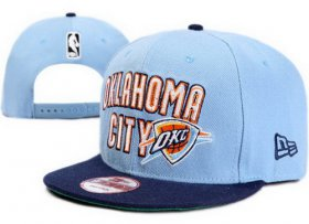 Wholesale Cheap NBA Oklahoma City Thunder Snapback Ajustable Cap Hat XDF 019