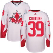 Wholesale Cheap Team CA. #39 Logan Couture White 2016 World Cup Stitched NHL Jersey