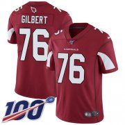 Wholesale Cheap Nike Cardinals #76 Marcus Gilbert Red Team Color Youth Stitched NFL 100th Season Vapor Untouchable Limited Jersey