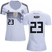 Wholesale Cheap Women's Germany #23 Rudy White Home Soccer Country Jersey
