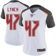 Wholesale Cheap Nike Buccaneers #47 John Lynch White Women's Stitched NFL Vapor Untouchable Limited Jersey