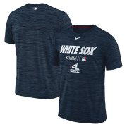 Wholesale Cheap Chicago White Sox Nike Authentic Collection Velocity Team Issue Performance T-Shirt Navy