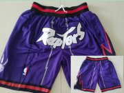 Wholesale Cheap Toronto Raptors Purple Throwback Short