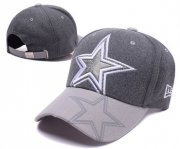 Wholesale Cheap Cowboys Team Logo Heather Gray Adjustable Hat SD
