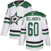 Cheap Adidas Stars #60 Ty Dellandrea White Road Authentic Stitched NHL Jersey