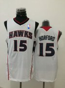 Wholesale Cheap Men's Atlanta Hawks #15 Al Horford White Swingman Jersey