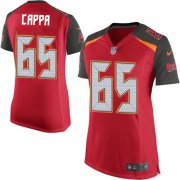 Wholesale Cheap Nike Buccaneers #65 Alex Cappa Red Team Color Women's Stitched NFL New Elite Jersey