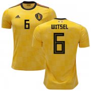 Wholesale Cheap Belgium #6 Witsel Away Kid Soccer Country Jersey